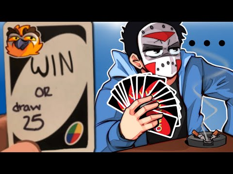 UNO Funny Moments - WIN OR GET COMPLETELY DESTROYED!!! (4 Player Co-op)