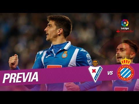 Previa SD Eibar vs RCD Espanyol
