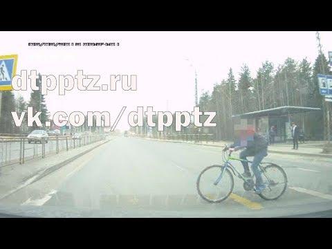 ДТП с несовершеннолетним велосипедистом произошло на улице Чапаева
