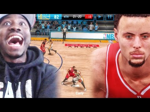 CURRY ON CURRY CRIME! NBA Live Mobile 16 Gameplay Ep. 5