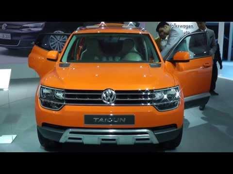 Volkswagen Taigun - Compact SUV Auto Expo 2014 India