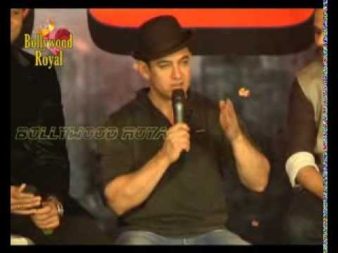 Aamir Khan, Katrina Kaif, Abhishek Bachchan & others at Media Conference of ''Dhoom 3'' Part-2
