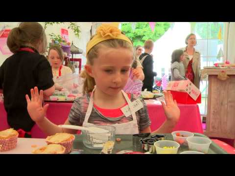 Cupcakes for Crumlin - Bloom 2013