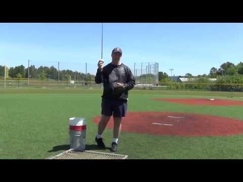 Batting Practice Pitching Technique / Coach Pitch Pitching Technique - Youth Baseball & Softball