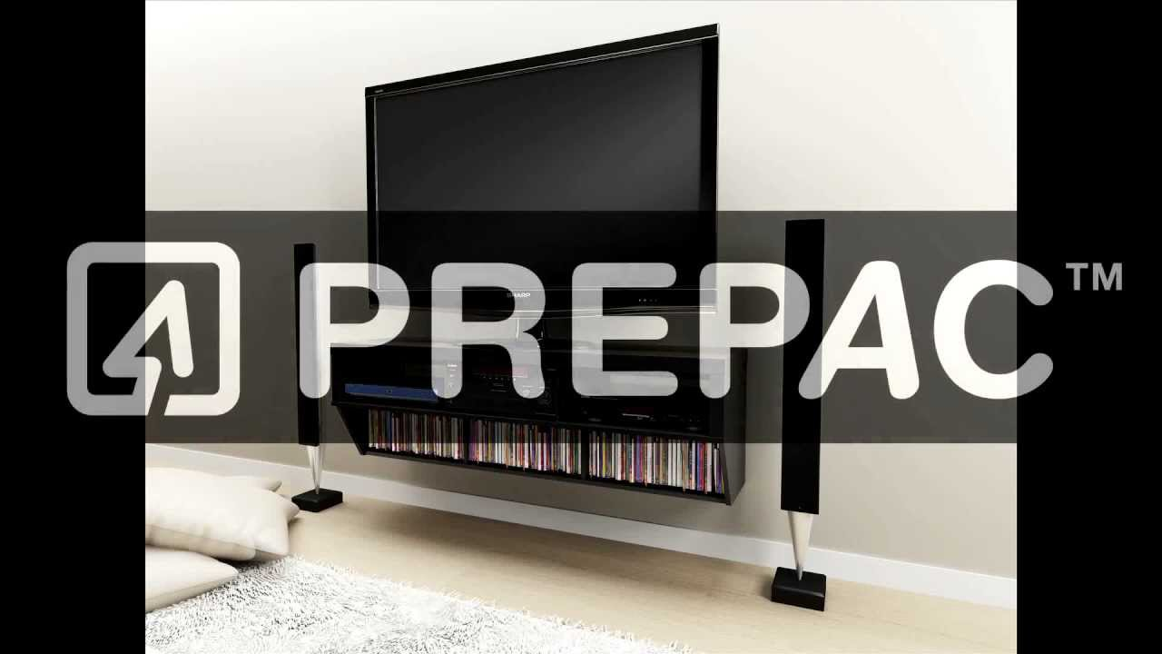 How To Install Products With Prepac S Metal Rail Hanging