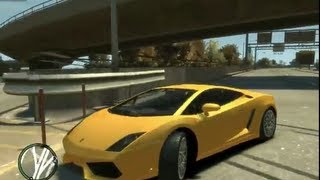 Grand Theft Auto IV Lamborghini Gallardo LP 560-4