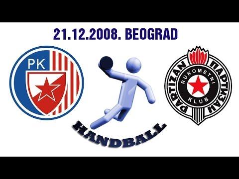 RK Crvena Zvezda – RK Partizan (21.12.2008.)