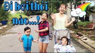 Nhung Phan Vlog: ĐI BƠI CÙNG GIA ĐÌNH CHỊ NHUNG THÔI NÀO !
