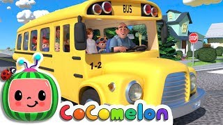Wheels on the Bus | Cocomelon (ABCkidTV) Nursery Rhymes & Kids Songs