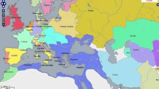 5K Years Political Map Europe