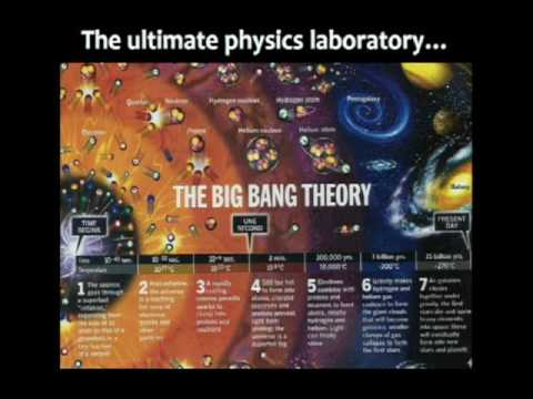 """an analysis of how the universe began in the big bang theory Most physicists, he begins, agree on the big-bang theory, which says that 14  billion years ago the entire observable universe was """"roughly a."""