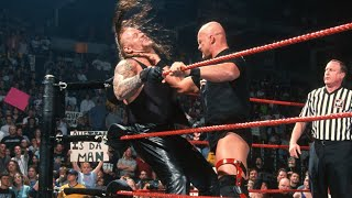 The Undertaker Vs Stone Cold Steve Austin In 2001