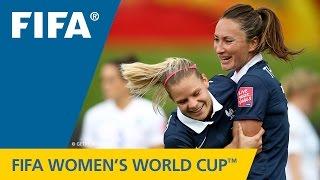 HIGHLIGHTS: France v. England - FIFA Women's World Cup 2015