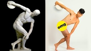 The Try Guys get naked to recreate the ancient Olympic Games