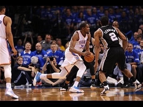 Spurs vs. Thunder: Game 3 Highlights