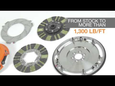 Centerforce Twin Disc DYAD Clutch