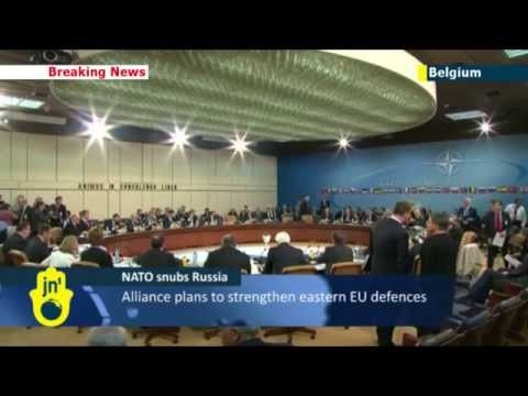 NATO talks Ukraine: Leaders bolster cooperation with Kiev and slam Russian aggression