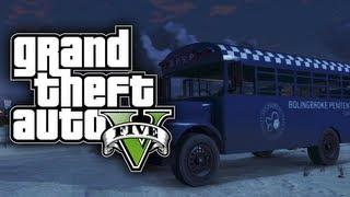 """GTA 5: Secret Cars """"Prison Bus"""" (GTA V)"""
