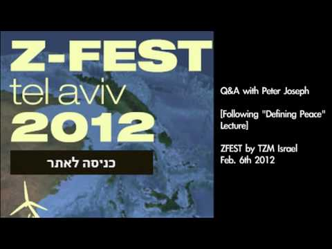 "The Zeitgeist Movement | ""ZFest"" Mid-East Event - Peter Joseph [Part 2/2, Q&A ] Feb. 6 12"