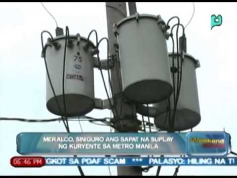 [The Weekend News] MERALCO, siniguro ang sapat na suplay ng kuryente sa Metro Manila [05|10|14]