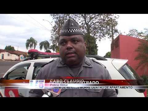 08/10/2018 - Homem de 40 anos é encontrado morto no interior de apartamento do Conjunto Luiz Spina em Barretos