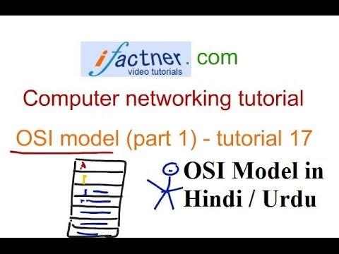 OSI Model in Hindi Urdu p1, Computer Networking tutorial 17 lecture