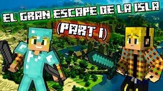 Minecraft- El Gran Escape De La Isla (part 1)