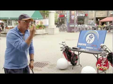 Golf Swing Kills Bird Prank