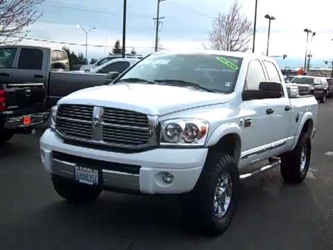 Sold 2008 Dodge Ram 2500 Hd 2500 Laramie Lifted Diesel 4wd 10109a Youtube