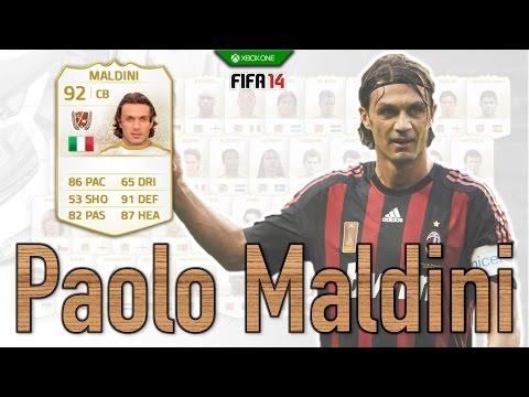 FIFA 14 | Legend Review | Paulo Maldini !
