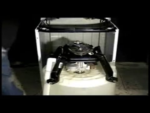 GE front serviceable washer transmission