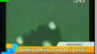 OVNI BAJO TORMENTA EN BOLIVIA, DETALLADO SEGUN EXPLICACION