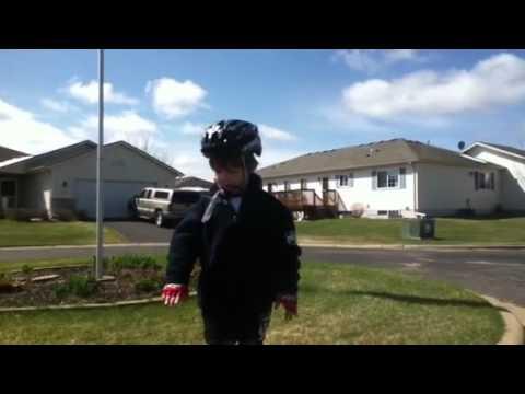 Little Kid Bicycle Motivation Speech