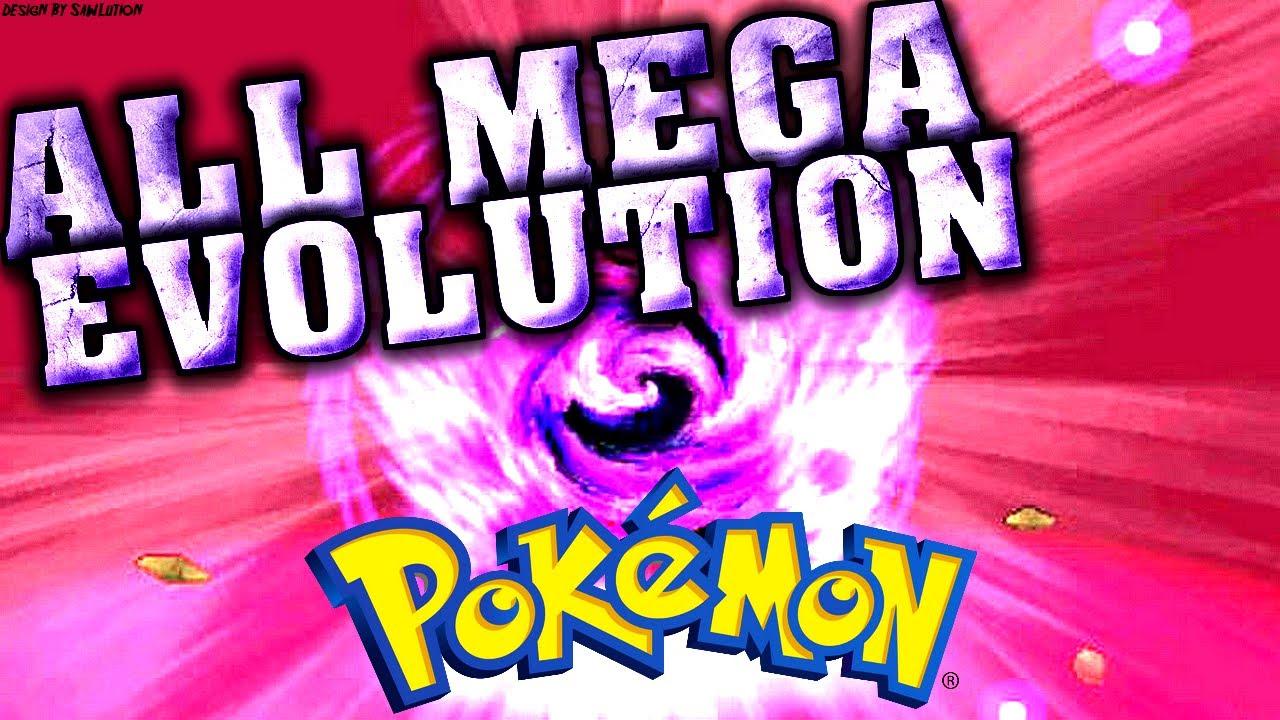 All mega evolution toutes les m ga evolutions pokemon x y youtube - Les mega evolution ...