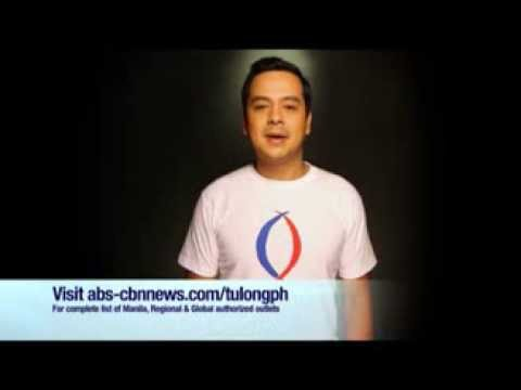 John Lloyd Cruz on TULONG NA, TABANG NA, TAYO NA Shirt!