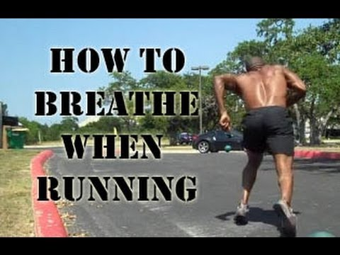 How to breathe while running | Proper breathing technique ...