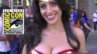 [Hottest WonderCon Wonder Woman of all TIME!!!] Video