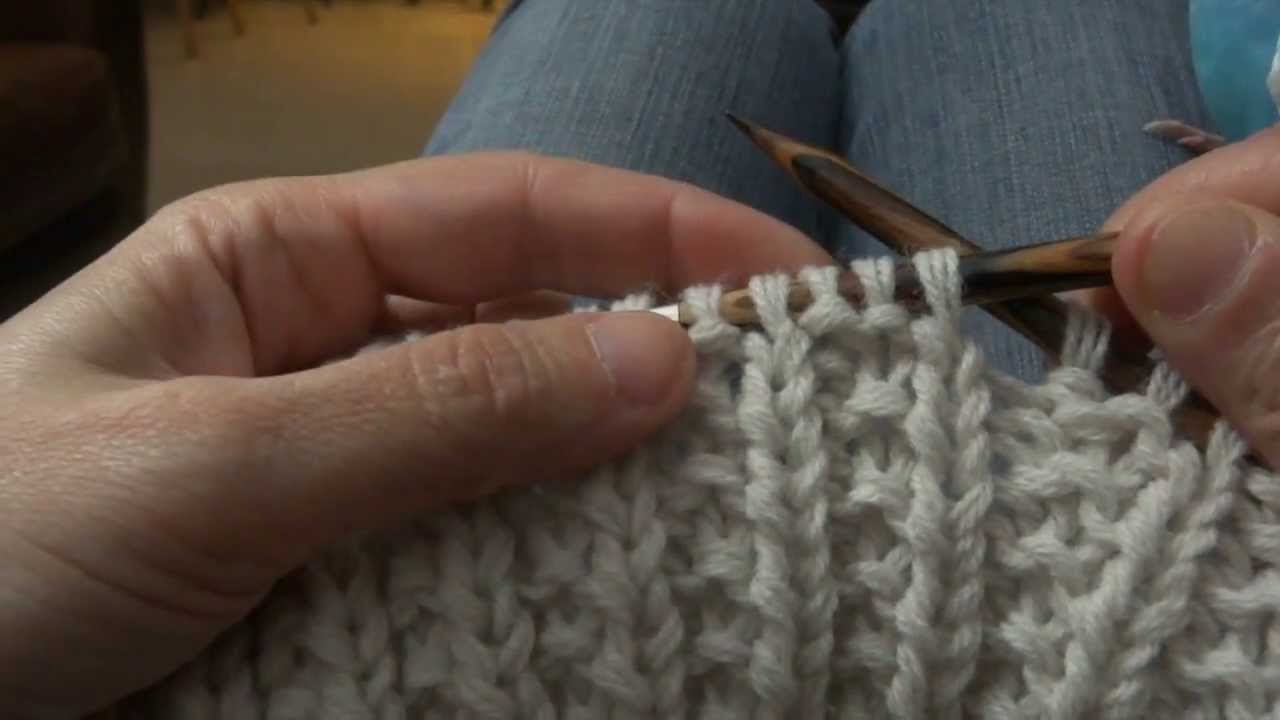 Tricoter en point de sillon aux aiguilles circulaires youtube - Tricot aiguilles circulaires magic loop ...