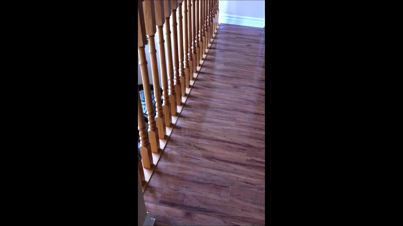 Laminate Floating Floor Installation With Sill Plate