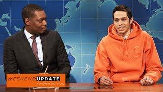 Weekend Update: Pete Davidson on Colin Kaepernick - SNL
