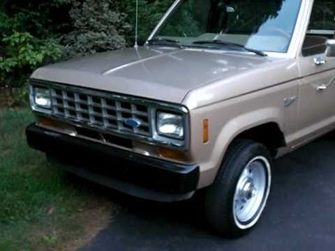 1987 ford ranger 4x4 2 3l turbo diesel youtube. Black Bedroom Furniture Sets. Home Design Ideas