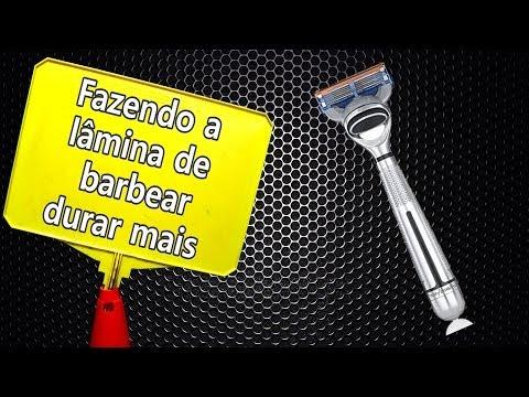 Trovoada Boas Ideias - Fazendo a lâmina de barbear durar mais