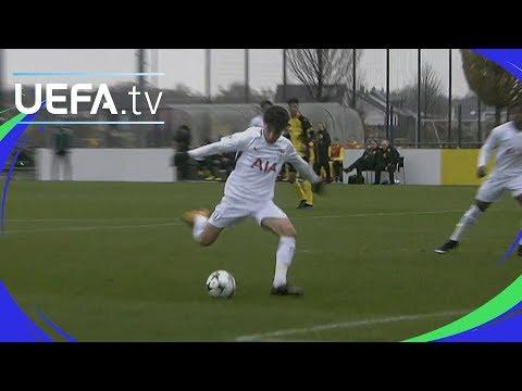UEFA Youth League highlights: Dortmund 1-3 Tottenham