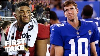 Talk of the Giants tanking for Tua Tagovailoa is growing – Louis Riddick | First Take