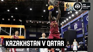 FIBA 3x3 Asia Cup U-18 among men's teams 2018 - Group stage: Kazakhstan - Qatar
