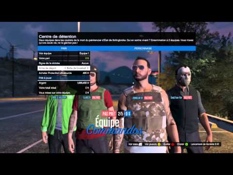 GTA 5 fight club au Gaza Crew