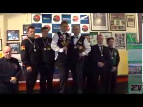 Medal Ceremony of 2013 IBSF World Team Snooker (MASTERS)