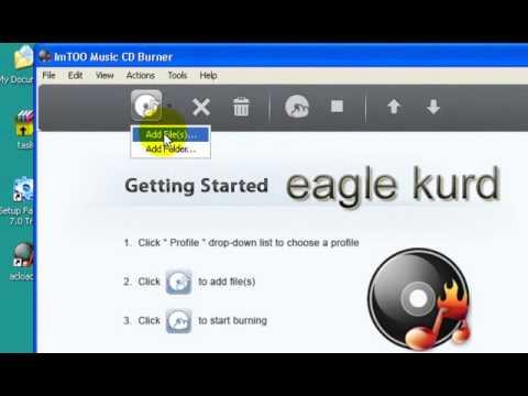 How to Create an Audio CD kurdish computer help