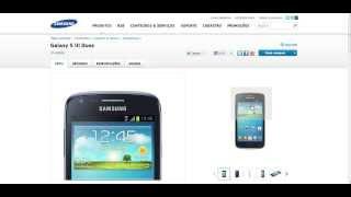 Samsung Galaxy S3 Duos GT I8262B Informações E