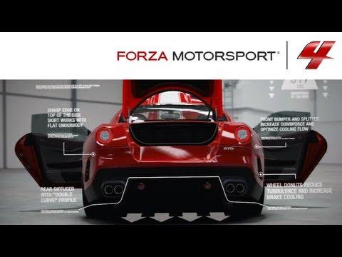 Forza 4 1080p Ferrari 599 GTO Autovista